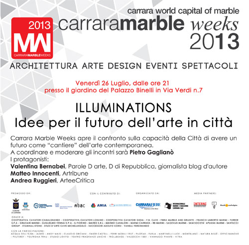 Illuminations---Carrara-Marble-Week