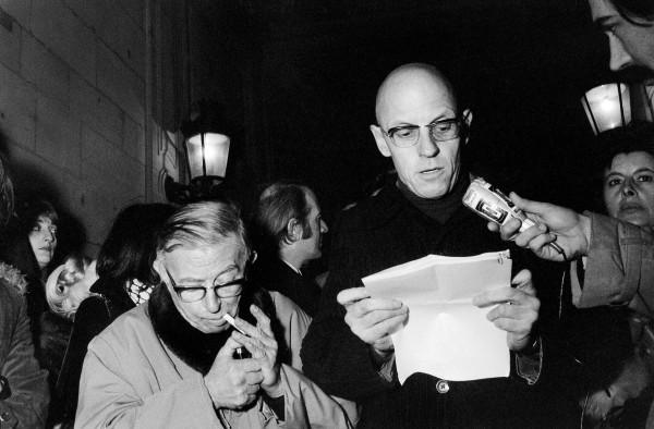 Jean-Paul Sartre et Michel Foucault, conferenza stampa GIP, 17 gennaio 1972