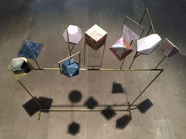 David Casini - Sessantottomilametri - ottone, argento, stampa su carta - 2015 - courtesy l'artista - ph. Luca Gambacorti