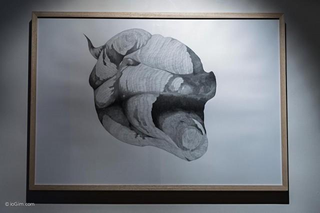 Giovanni Kronenberg - senza titolo - matita su carta - 2014 - courtesy l'artista – ph. IoGiM
