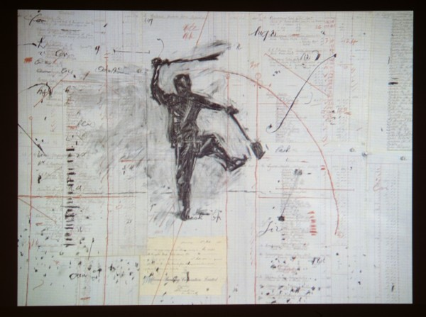 Ripensare il Medium: il fantasma del disegno - William Kentridge, Other Faces, 2011