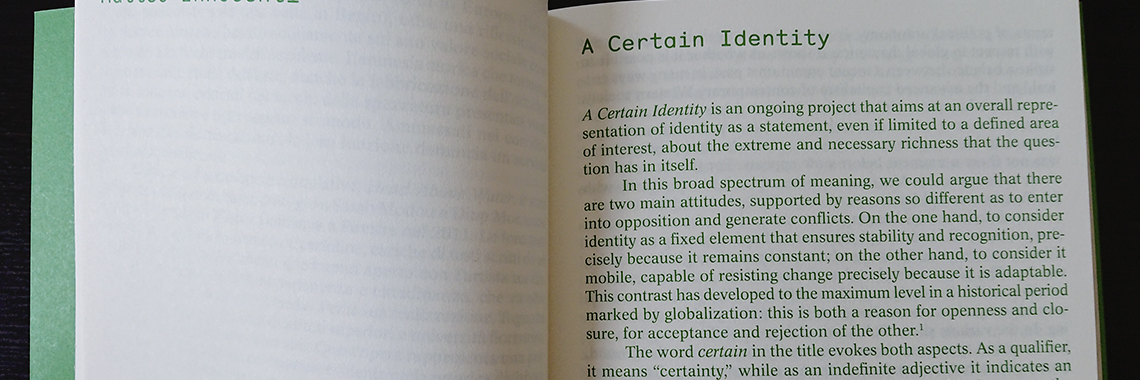 Global Identities. The book is out